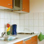 Küchenzeile Ferienwohnung Gewandhaus in Leipzig
