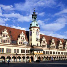 Altes Rathaus am Markt in Leipzig